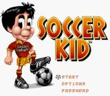 Soccer Kid SNES Main menu