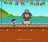 Soccer Kid SNES Pavarotti lookalike - boss fight in Italy