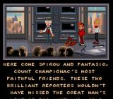 Spirou SNES The story is told in cut-scenes.