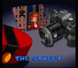 Spirou SNES Each level is announced beforehand.