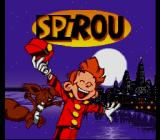 Spirou SNES Title screen
