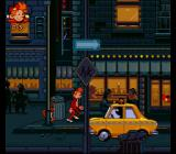 Spirou SNES In a dark alley