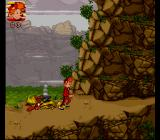 Spirou SNES In the mountains
