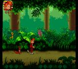 Spirou SNES Green and lush jungle