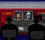 WWF Raw SNES The commentators announce the match.