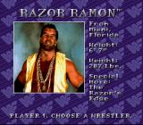WWF Royal Rumble SNES Machismo - Razor Ramon