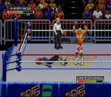 WWF Royal Rumble SNES Shawn Michaels wins!