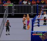 WWF Royal Rumble SNES The action takes place out of the ring, too!