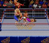 WWF Royal Rumble SNES Lot's of action during Royal Rumble