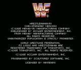 WWF WrestleMania SNES Copyright notice