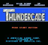 Thundercade NES Title screen
