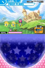 Kirby: Squeak Squad Nintendo DS World map