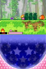 Kirby: Squeak Squad Nintendo DS Fire-Kirby is about to set the world on fire!