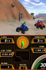 ATV Quad Frenzy Nintendo DS Catching up to the pack.