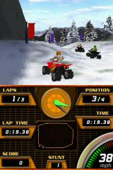 ATV Quad Frenzy Nintendo DS The vehicle physics are as crude as they get.