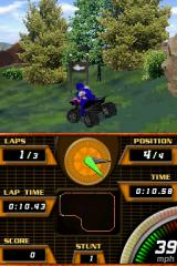 ATV Quad Frenzy Nintendo DS Some dense foliage ahead