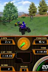 ATV Quad Frenzy Nintendo DS Lakes maps are possibly the most robust in the game, they also have the most performance issues.