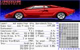 Test Drive II Car Disk: The Supercars DOS Lamborghini Countach
