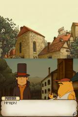 Professor Layton and the Curious Village Nintendo DS The villagers aren't eager to let any outsiders into their town... possibly because most of them are certifiably insane.