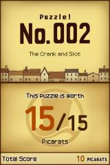 "Professor Layton and the Curious Village Nintendo DS Each puzzle yields a certain number points or ""picarats"". Each unsuccessful attempt to solve a puzzle reduces that number. The harder the puzzle, the higher the initial number of picarats."