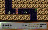 Dark Caves Commodore 64 The first level