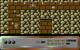 Dark Caves Commodore 64 Avoid the spikes