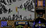 Last Ninja 3 Commodore 64 Mountainous area