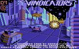 Vindicators Commodore 64 Title screen