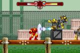 The Invincible Iron Man Game Boy Advance Fighting the first enemies