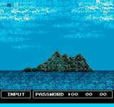 Thunderbirds NES Password screen