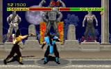 Mortal Kombat DOS Sub-zero vs Scorpion