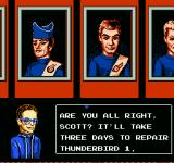 Thunderbirds NES It takes 3 days to repair any downed ship