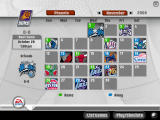 NBA Live 07 Windows Season calendar