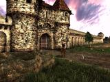Arcatera: The Dark Brotherhood Windows Standing in front of the town