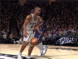 NBA Live 07 Windows Player with a basketball