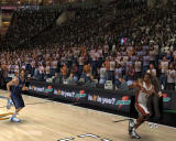 NBA Live 07 Windows Player receives a basketball