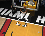 NBA Live 07 Windows Basket has a camera behind it, but you can't get a video from it.