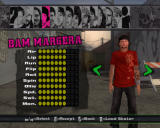 Tony Hawk's American Wasteland Windows Player selection screen in classic mode
