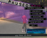 Tony Hawk's American Wasteland Windows Paused menu