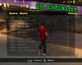 Tony Hawk's American Wasteland Windows Gap Checklist