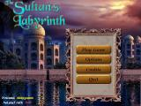 The Sultan's Labyrinth Windows Main menu