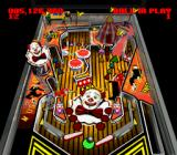 Super Pinball II: The Amazing Odyssey SNES Show Time - table view