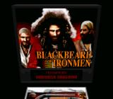 Super Pinball: Behind the Mask SNES Blackbeard and Ironmen - back display