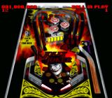 Super Pinball: Behind the Mask SNES Jolly Joker - table view