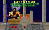Mortal Kombat DOS Test your might