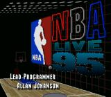 NBA Live 95 SNES Scene from the intro