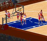 NBA Live 95 SNES The guy with the star - that's you!