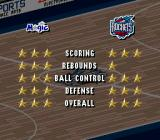 NBA Live 96 SNES This year they use stars for team comparison.