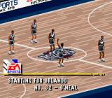 NBA Live 96 SNES Introduction to the teams