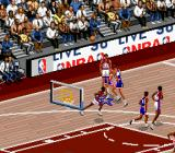 NBA Live 96 SNES Advertisement during gameplay
